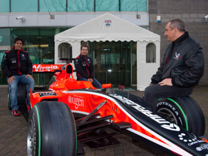 Marussia Motors, Virgin Racing