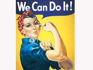 We Can Do It! модель Дойл