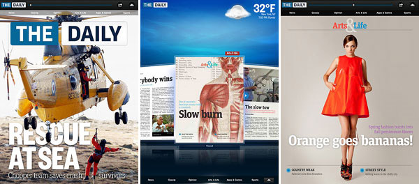 iPad The Daily