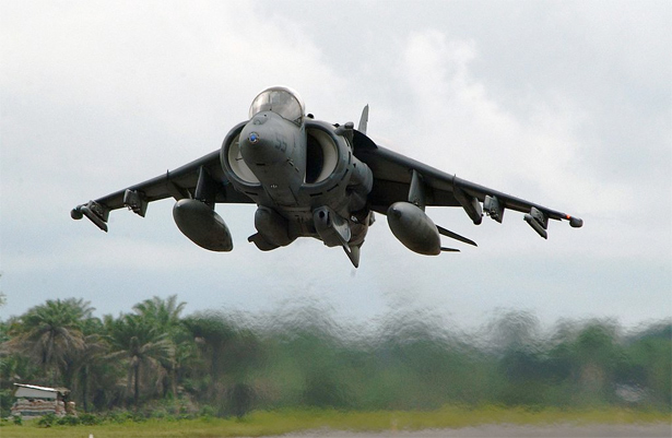 AV-8B-Harrier-aircraft